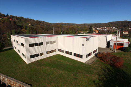 Azienda Cassetto Foto aerea Industriale Torino