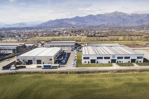 Industria Automotive Foto Aerea Industriale Torino
