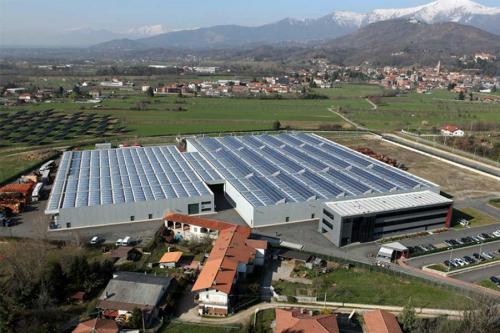 Industria Meccanica Foto Aerea Provincia di Torino
