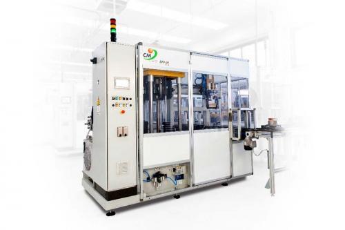 Foto complessiva macchina industriale